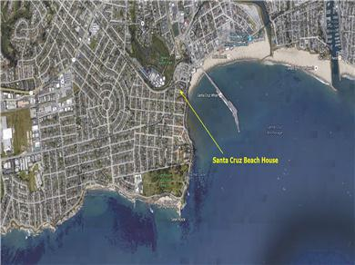 Santa Cruz Beach House Vacation Rental
