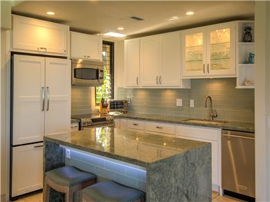 Wailea Elua Village Condo Vacation Rental The ocean views can be enjoyed from the kitchen