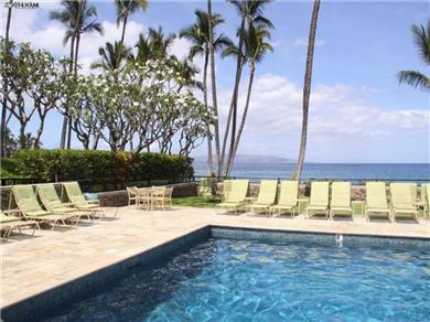 Wailea Elua Village Condo Vacation Rental Swim or sunbathe at the oceanfront pool or beach