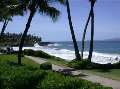 Wailea Elua Village Condo Vacation Rental Beach walk to resorts & dining with ocean views
