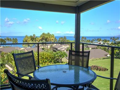 Wailea Elua Village Condo Vacation Rental Relax and enjoy beautiful views from inside.