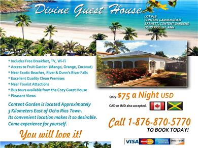 Divine Guest House Vacation Rental
