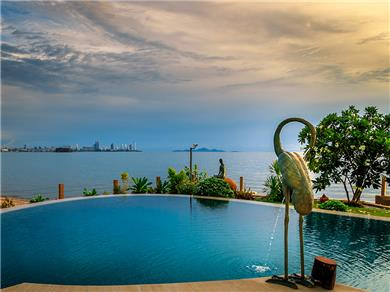 Paradise Ocean View 1bedrm Pratumnak $42 Vacation Rental