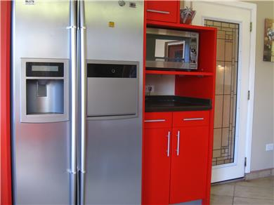 Villa Bella Mare for vacation rental Vacation Rental side by side fridge