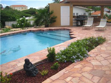 Villa Bella Mare for vacation rental Vacation Rental Pool with gazebo