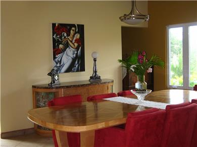 Villa Bella Mare for vacation rental Vacation Rental dining room with sea view