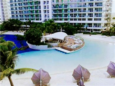 Newly furnished 1BR unit in Azure Residences Vacation Rental