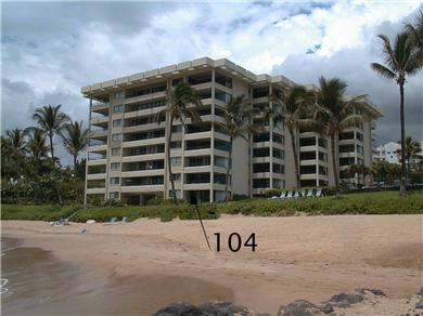On the sand at Polo Beach - Wailea / Makena, Maui Vacation Rental