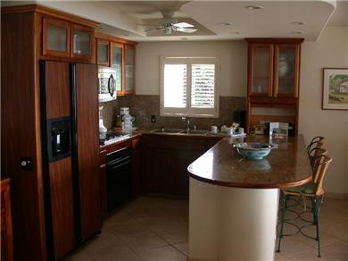 On the sand at Polo Beach - Wailea / Makena, Maui Vacation Rental Polo Beach 204 kitchen