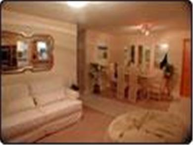 Barra Dolce Vita Residence Service Vacation Rental Living Room with couch and table
