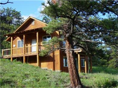 Meeker Peek Rocky Mountain Cabin Rental Home