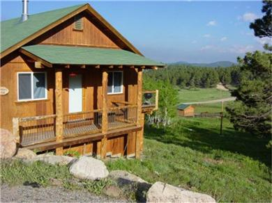 Meeker Peek Rocky Mountain Cabin Rental Home Vacation Rental