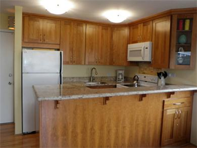 Four Paddle 709 Vacation Rental Kitchen