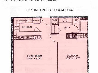 Four Paddle 709 Vacation Rental Floor Plan