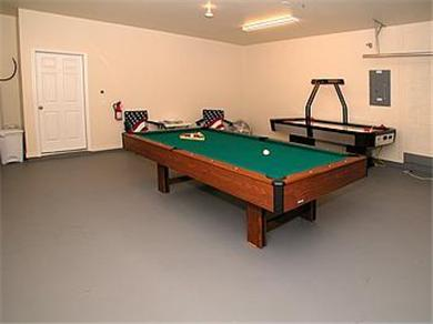 The Clubhouse at Somerset Vacation Rental Games Room