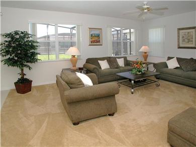 The Clubhouse at Somerset Vacation Rental Spacious Family Room