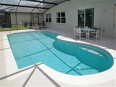 The Clubhouse at Somerset Vacation Rental South West facing Pool