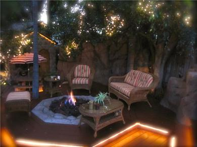 The Enchanted Manor Vacation Rental FIRE PIT