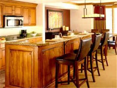 Sheraton Steamboat Mountain Villas Vacation Rental Gorgeous Granite Counter Kitchen, Stainless Appls.