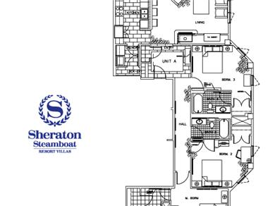Sheraton Steamboat Mountain Villas Vacation Rental 3BR - Spacious Floorplan!