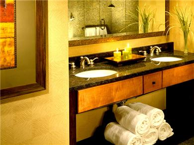 Sheraton Steamboat Mountain Villas Vacation Rental Master Bath