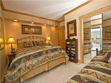 Ski in / Ski out condo in the Village at Breckenridge Vacation Rental Bedroom