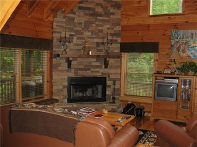 Whitetail Ridge Cabin near Blue Ridge GA Vacation Rental