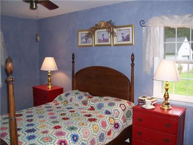 Nanticoke Beach, a waterfront Chesapeake getaway Vacation Rental master bedroom