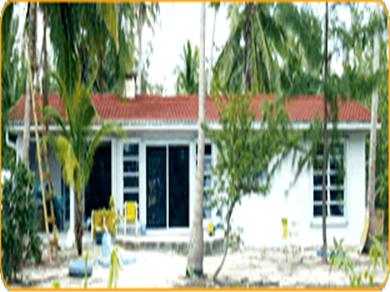 OCEANFRONT 3br  HOUSE SECLUDED SANDY BEACH, ANDROS BAHAMAS Vacation Rental House