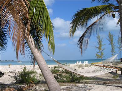 OCEANFRONT 3br  HOUSE SECLUDED SANDY BEACH, ANDROS BAHAMAS Vacation Rental Cool Breezes in the Hammock by the Beach