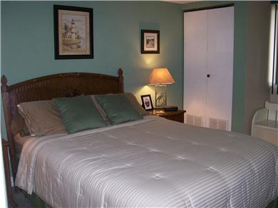 Jamacia IV Condo on 56th St - Romantic Bayside Getaway Vacation Rental Master Bedroom