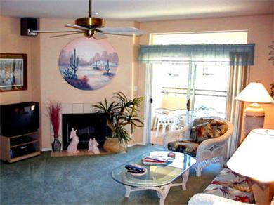 Pointe Tapatio Cliffs Resort Condominiums Vacation Rental Living Room