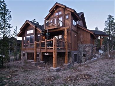 Frisco vacation villa rental bainbridge water dance home for Frisco colorado cabin rentals